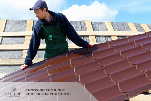 Choosing the Right Roofer for Your Home
