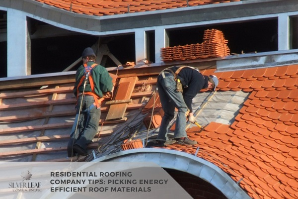 Picking Energy Efficient Roof Materials