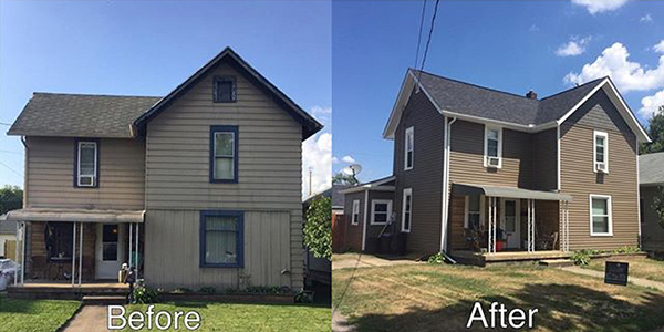Exterior Remodeling Transformation